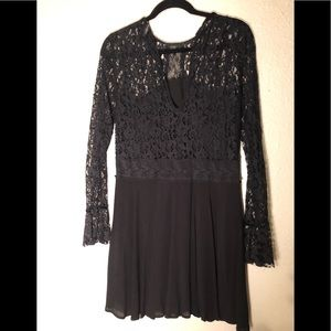 Zara Lace Babydoll Dress